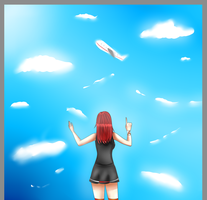 [Look! It's his airplane!!] by Fumei-Rin