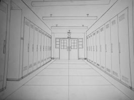 COLLEGE HALL PERSPECTIVE by phymns