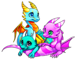 Dragon Cluster by soulwithin465