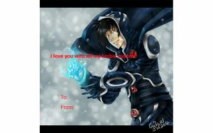 Jace Valentine's day card by ObsidianHex