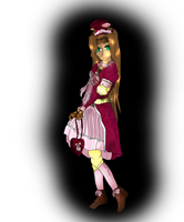 Lolita character for Dustomega by sorrowscall