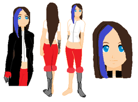 OC REF. Sheet - Sora Hayzo by TheSaviorAlchemist