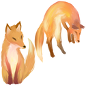 Foxes by loukette03