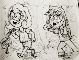 Gravity Falls Style by Bre-Ce-Cuca