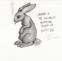 smokin'_bunneeh by nocturnalMoTH