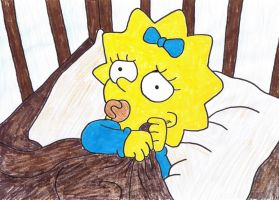 Maggie Simpson 1 by moniLainLP