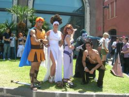 Hercules group cosplay by Juliet1992