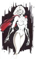 Power girl by pokar17