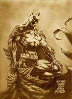 Batman after Finch 12-14-2014 by myconius