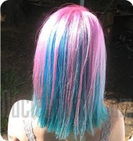 Cotton Candy Hair by HairExtensions