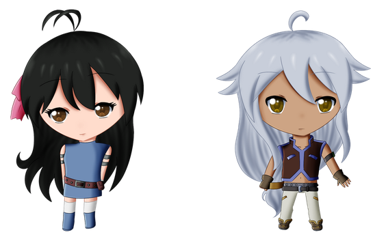 CP Victoria and Tsubasa by Rodgier-XD