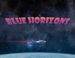 Blue Horizons 4 by Robby-Robert