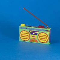 BoomBox (Paper Craft) by hotamr