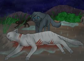 WindClan Battle Coloured by pikachuabc