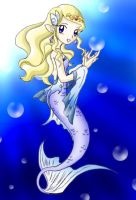 Zelda as a mermaid- revisited by SMeadows
