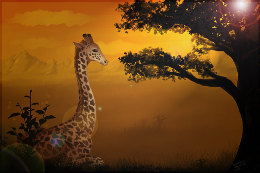Resting in the Savannah by ChasingDreams4