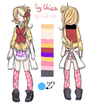 Toy Chica REF by SooJi-Oh