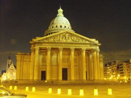 The Pantheon Paris by Keithyb