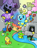 Savage Chao Garden by Meowtwo