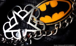 Black Veil Brides Pentagram / Batman Logo by DinahHollywood