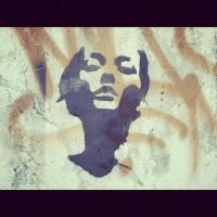 jane doe stencil by curiouslyindifferent