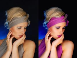Before and After Retouch 5 by ale2xan2dra