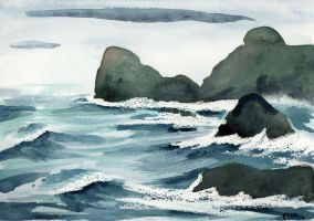 Kynance Cove by ZurinaRose