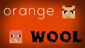 Orange Wool Wallpaper (3000X1680) by JarkoStudios