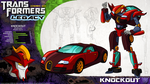 Transformers Legacy: Knockout by CyRaptor