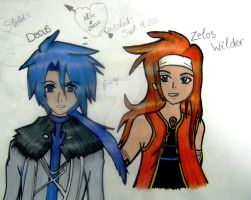 Decus and Zelos by SheikahLover