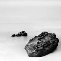 rock and sand by arayo