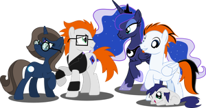 Quicksilver's future family. by Vector-Brony