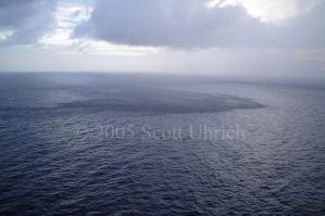 Rain Squall On the ocean by vbcsgtscud