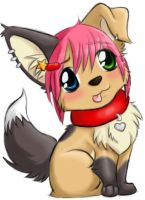 Just a Lil Pup -full pic- by Sakiimi
