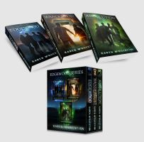 Book Covers - Edgewood Series by Karen McQuestion by Georgina-Gibson