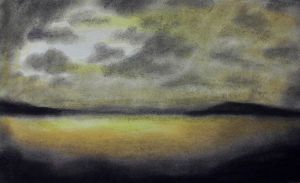 Pastel Chalk 02 - Light Through Clouds by CpointSpoint