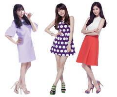 PNG Tiffany Sunny and SeoHyun by jimikwon2518