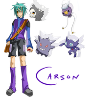 PKMN Trainer: Carson by Radioactive-Blowout