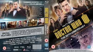 DOCTOR WHO : THE 50TH ANNIVERSARY (GOLD) BLU-RAY by MrPacinoHead
