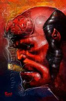 Hellboy by jonpinto