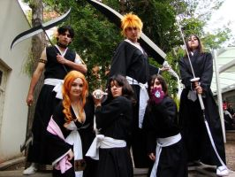 Bleach group by claranugem