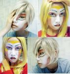 Ka: Make up test... by Akusesu