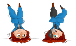I can do a handstand longer than you! by Comical-Carnival