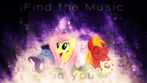 Ponytones Wallpaper by Mithandir730