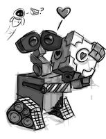 Wall-E WIP 1 by charco