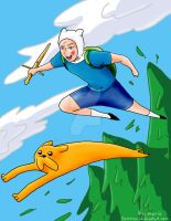This finn and jake by Famana