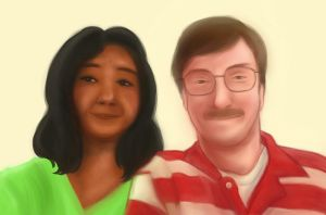 Mom and Dad by SaBasse
