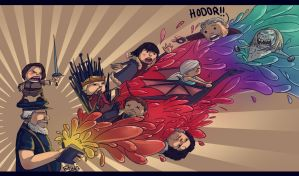 game of throne chibi splash by etubi92