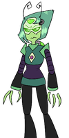Peridot and Tak Fusion by AccursedAsche