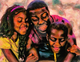Kevin Hart by Th3-Gr3at-ESCap3